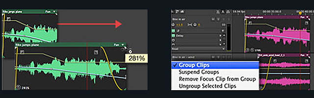 Adobe Audition Layout
