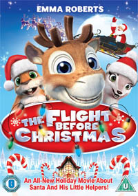 The Flight Before Christmas Poster