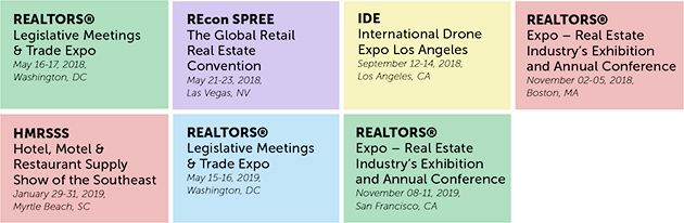 real estate expos in the US