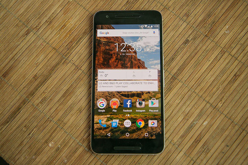 The Google Nexus 6P